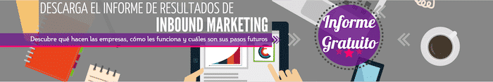 Informe de resultados Inbound Marketing