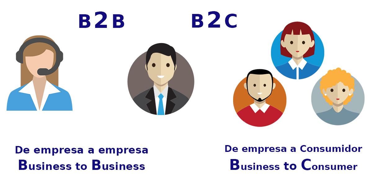 diferencias entre b2b y b2c