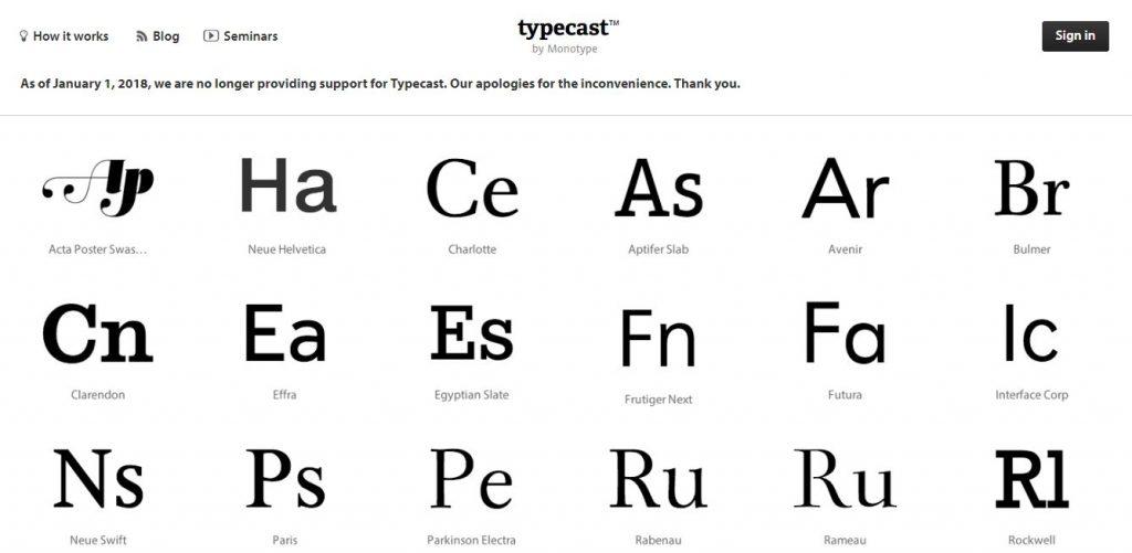 tipografia para diseño web