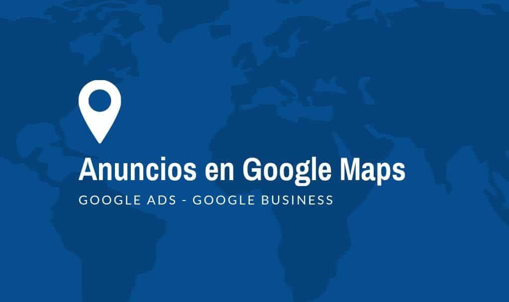 anuncios google maps