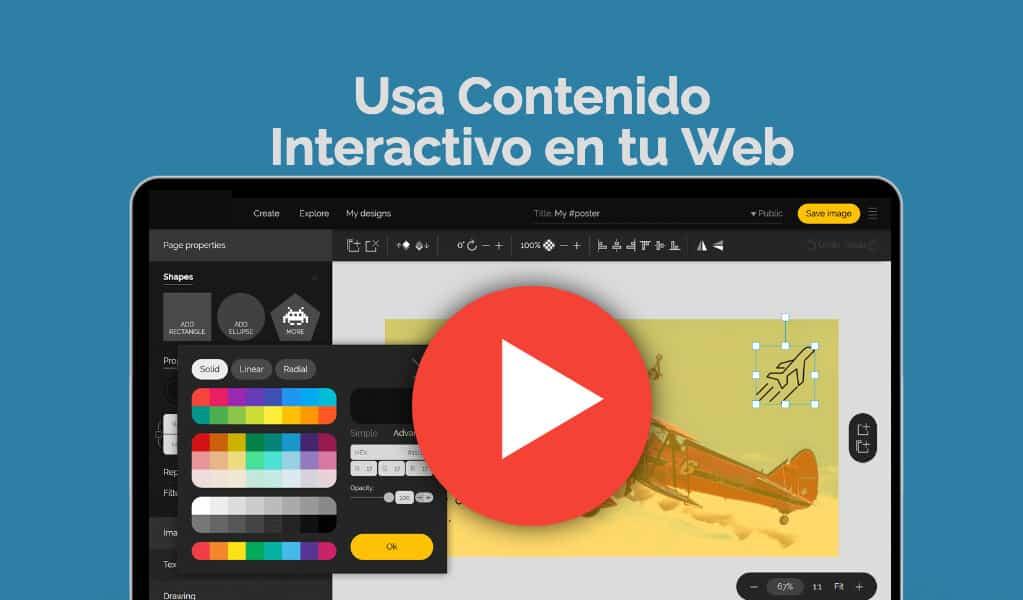 Contenido interactivo en tu web