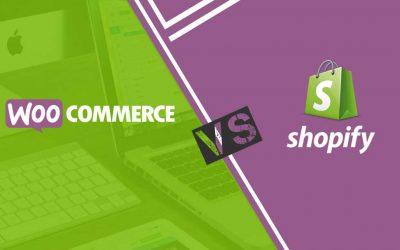Elegir entre Shopify y Woocommerce (WordPress) para mi tienda de e-commerce
