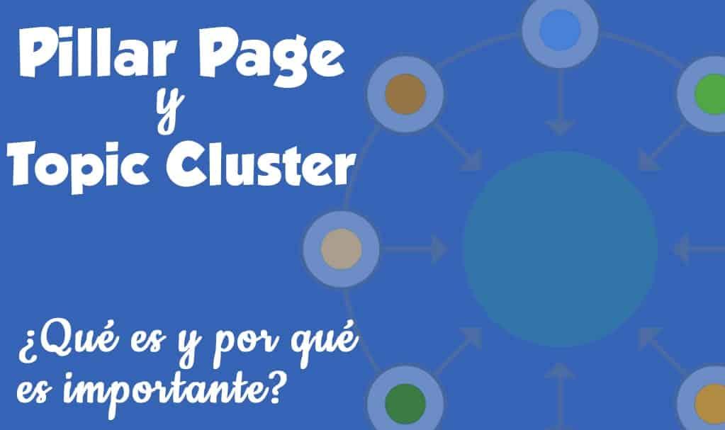 Pillar Pages y Topic Cluster que es y porqué es importante