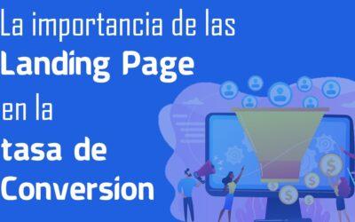 La importancia de Las Landing Pages en la tasa de conversión