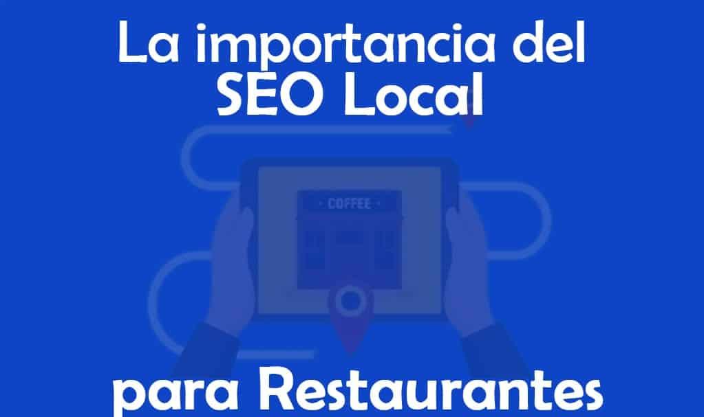 La importancia del SEO local para restaurantes