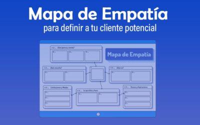 Mapa de empatía para definir a tu cliente potencial